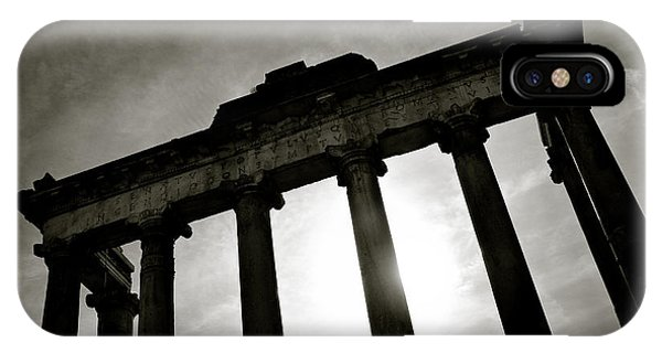 Italy iPhone Case - Roman Forum by Dave Bowman