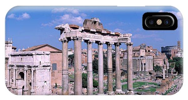 Roman Forum, Rome, Italy IPhone Case