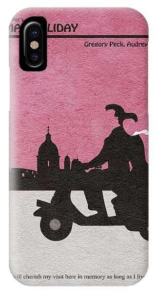 Movie iPhone Case - Roman Holiday by Inspirowl Design