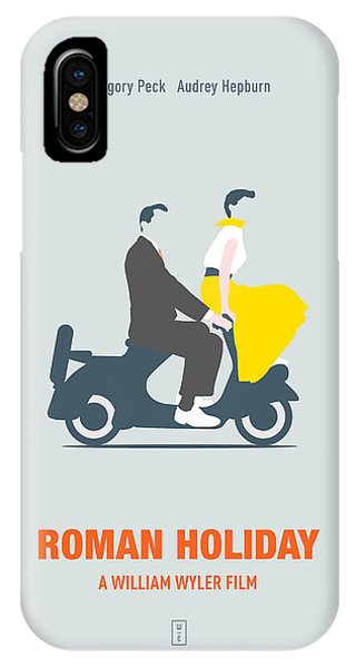 Roman Holiday IPhone Case