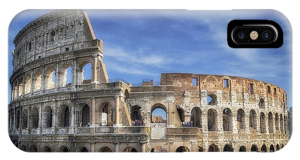 Ancient Rome iPhone Case - Roman Icon by Joan Carroll
