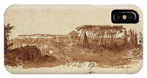 Roman Landscape IPhone Case