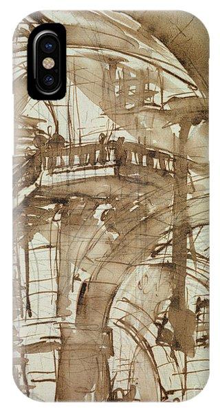 Dungeon iPhone Case - Roman Prison by Giovanni Battista Piranesi