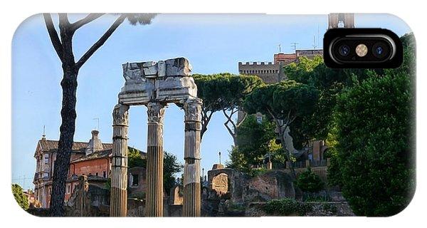 Roman Ruins 1 IPhone Case