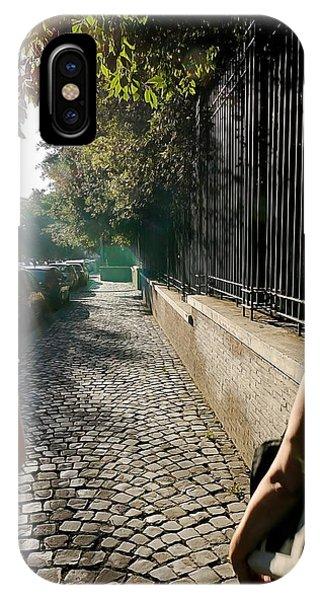 Roman Streets 2 IPhone Case