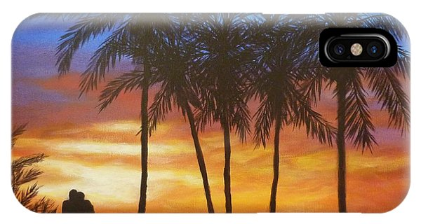 Romance In Paradise IPhone Case