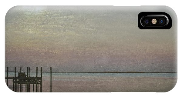 IPhone Case featuring the photograph Romancing The Moon by Judy Hall-Folde