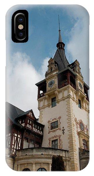 Romania Transylvania Sinaia Peles Castle IPhone Case