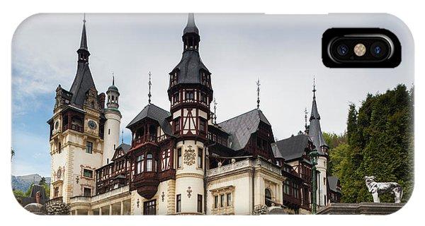 Romania, Transylvania, Sinaia, Peles IPhone Case