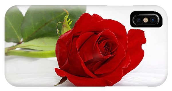 Romantic I Love You Red Rose IPhone Case