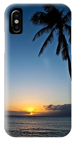 Romantic Maui Sunset IPhone Case