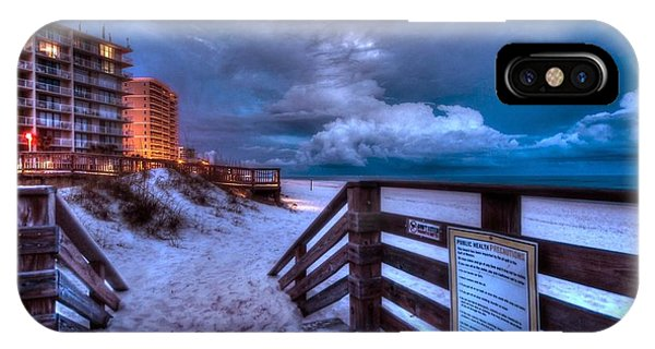 Romar Beach Clouds IPhone Case
