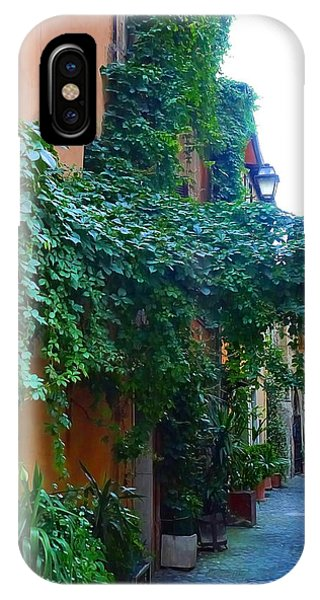 Rome Alley 1 IPhone Case
