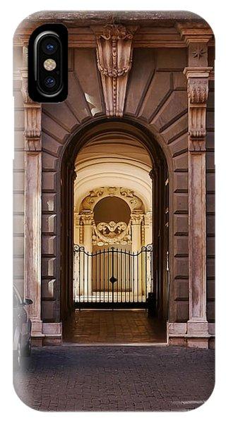 Rome- Doorway IPhone Case