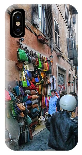Rome- Street Market IPhone Case