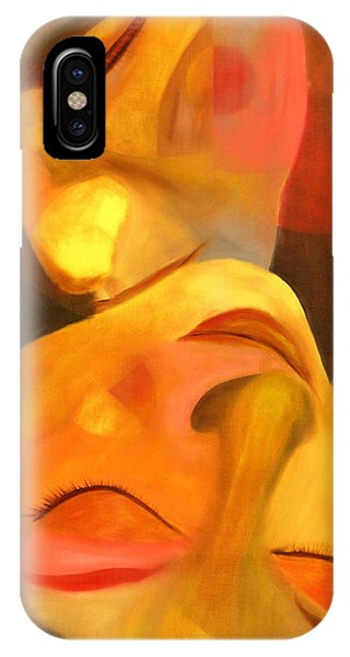 Colourful iPhone Case - Romeo And Juliet by Hakon Soreide