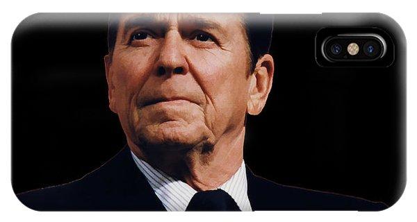 Ronald Reagan  1911 - 2004 IPhone Case