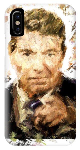Ronald Reagan IPhone Case