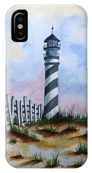 Ron's Lighthouse IPhone Case