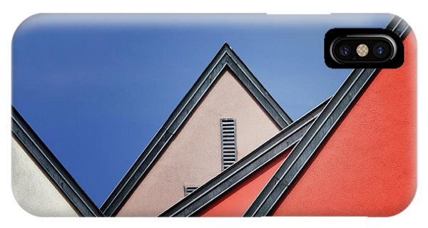 Rooftops iPhone Case - Roof Lines by Jeroen Van De