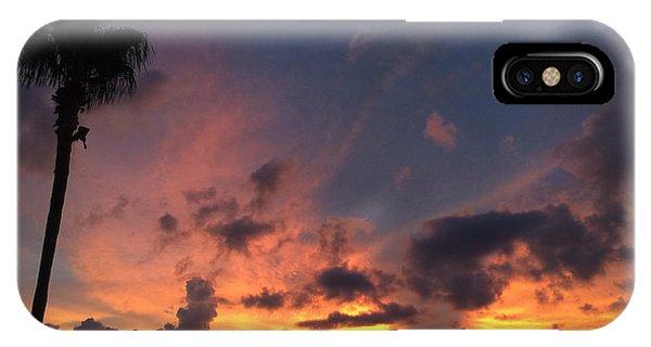 Rooftop Sunset International Plaza IPhone Case