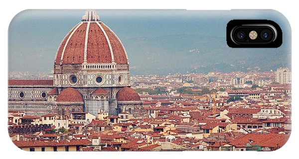 Rooftop View Of Florence Italy IPhone Case