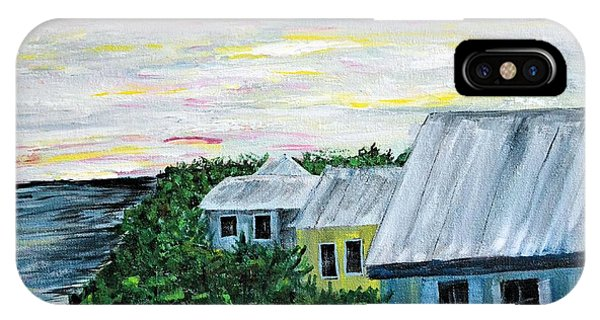 Rooftops At Sunset IPhone Case