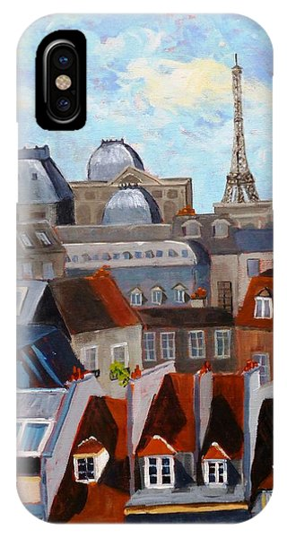 Rooftops Of Paris IPhone Case