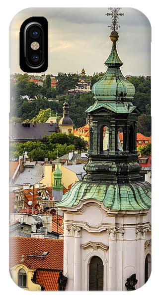 Rooftops Of Prague 1 IPhone Case