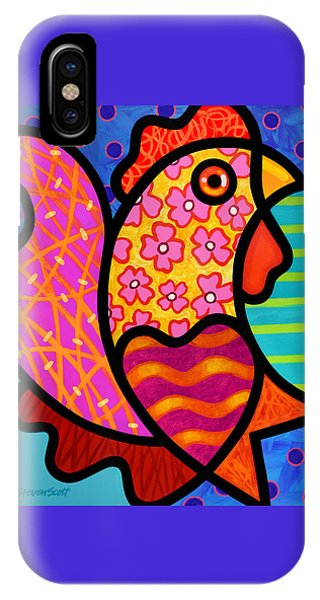 Rooster Dance IPhone Case