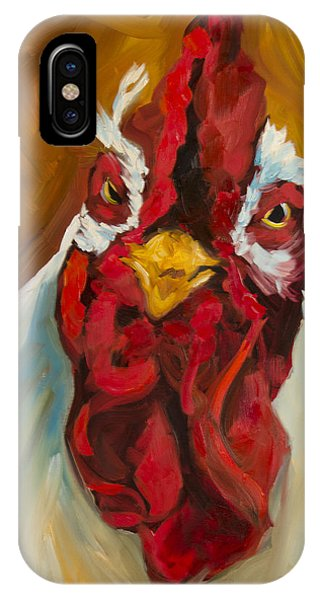 Rooster Face IPhone Case