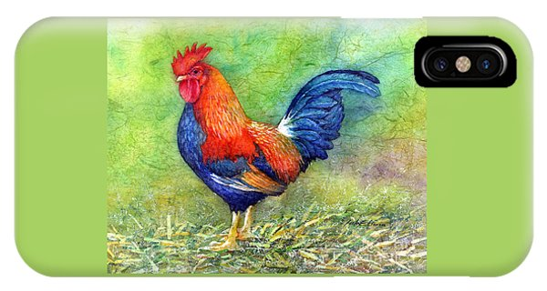 Agriculture iPhone Case - Rooster  by Hailey E Herrera