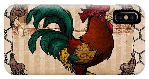 Rooster I IPhone Case