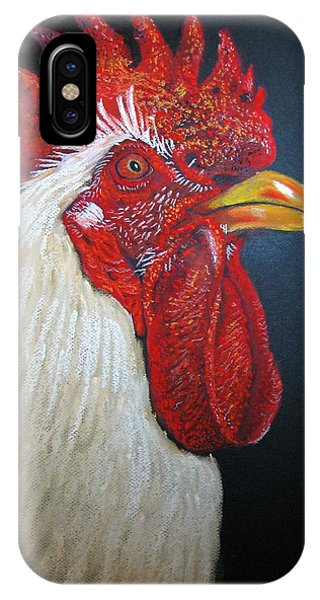 Rooster Profile#2 IPhone Case