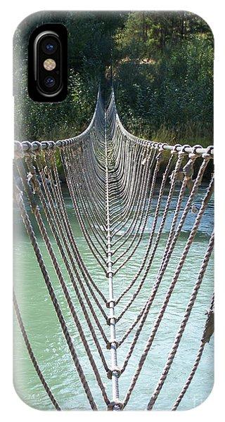 Rope Foot Bridge IPhone Case
