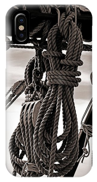 Rope Work IPhone Case