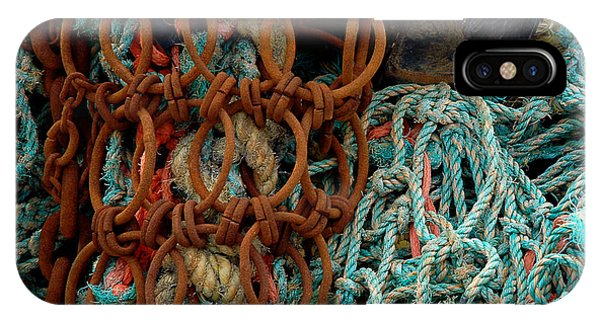 Ropes And Rusty Wires IPhone Case