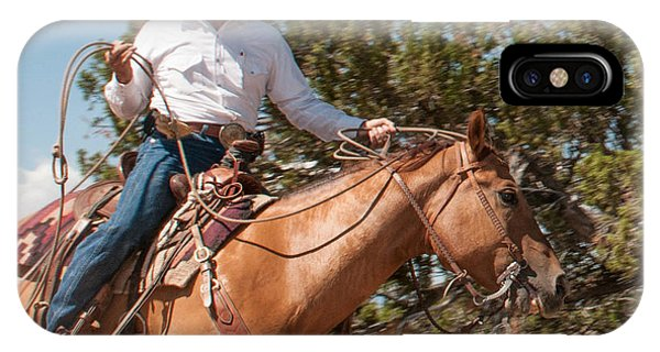 Ropin' IPhone Case