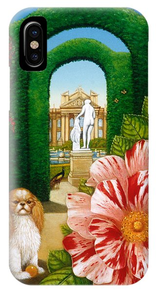 King Charles iPhone Case - Rosa Mundi, 1995 Oils And Tempera On Panel by Frances Broomfield