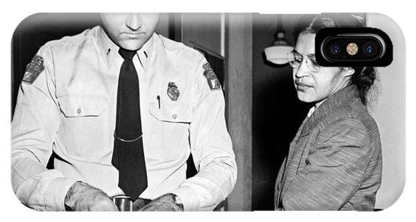 Rosa Parks Gets Fingerprinted IPhone Case