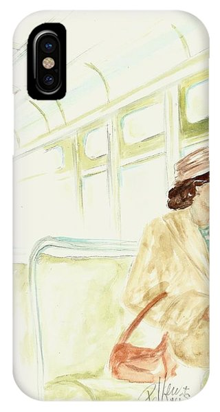Rosa Parks Rides IPhone Case