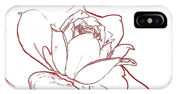 Rose 2 IPhone Case