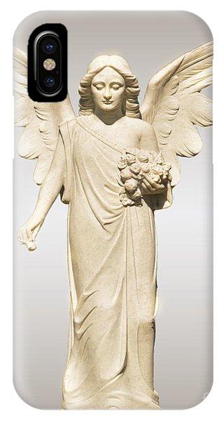 Rose Angel IPhone Case