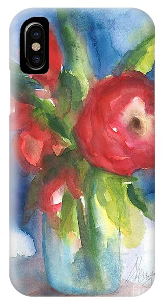 Rose Blooming IPhone Case