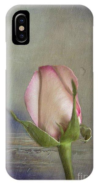 Rose Bud IPhone Case