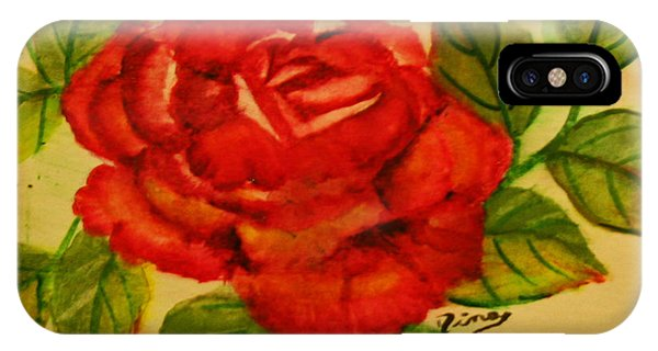 Rose Phone Case by Dina Jacobs