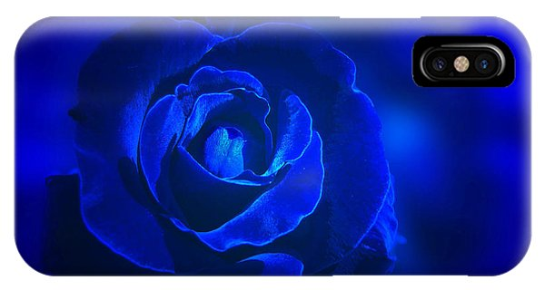 Rose In Blue IPhone Case