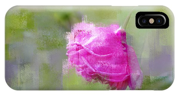 Rose In Pink IPhone Case