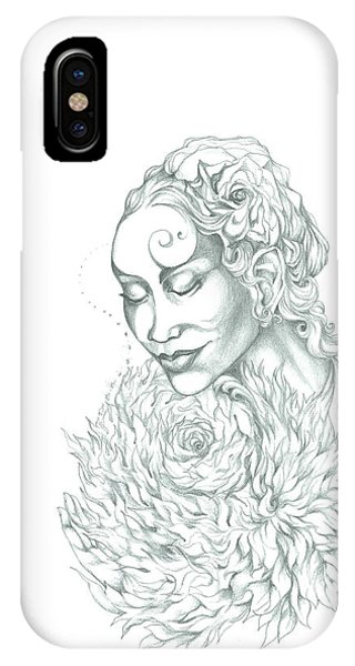 Rose Of Grace And Kindness IPhone Case