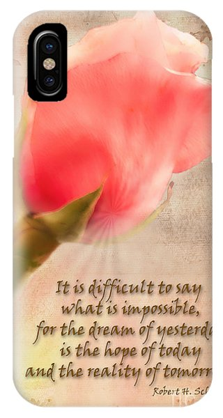 Rose Of Hope IPhone Case